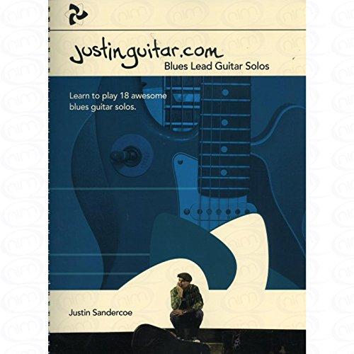 Justinguitar.com - Blues Lead Guitar Solos - arrangiert für Gitarre - mit Tabulator [Noten/Sheetmusic] Komponist : Sandercoe Justin