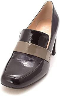 Womens Karter Square Toe Classic Pumps, Black/Nude, Size 7.5