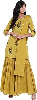 Divena Women's Cotton Readymade Salwar Suit