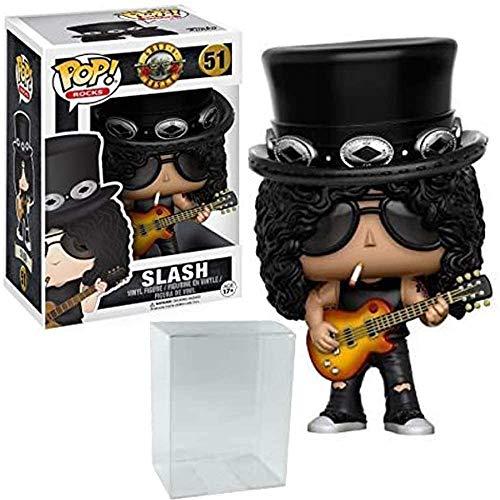 Funko Pop! Rocks: Music - Guns N' Roses Slash Vinyl Figure (Includes Pop Box Protector Case)