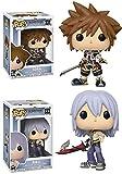 FunkoPOP Kingdom Hearts: Sora + Riku – Stylized Video Game Disney Vinyl 2 Figure Bundle Set...