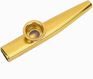 Kazoo ze stopu aluminium bezpieczne do podróży do użytku domowego(Golden)