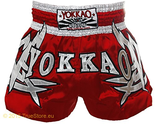 Yokkao Thai Shorts sudsa Grano Tribal, Rot, XL