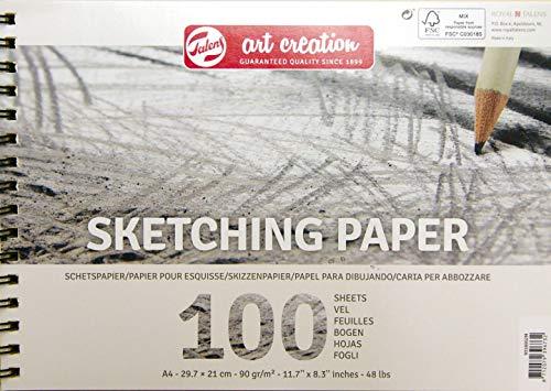 Talens Art Creation -   Skizze Papier A4, 90g, 100 Blätter, FSC-MIX