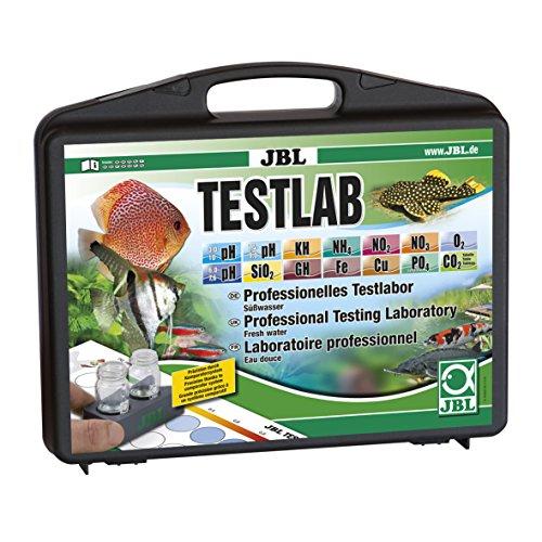 JBL Testlabor mit 12 Tests zur Süßwasseranalyse