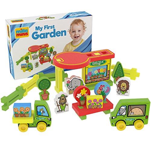 Millaminis My First Garden Speelgoed vanaf 1 jaar - Babyspeelgoed voor thuis, tuin, zandbak en water - Bloemenwinkel