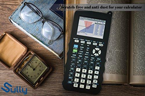 Silicone Case for Ti 84 Plus CE Calculator (Black) - Cover for Texas Instruments Ti-84 Graphing Calculator - Silicon Skin for Ti84 Plus - Protective & Anti-Scretch Cases - Ti 84 Accessories by Sully Photo #4