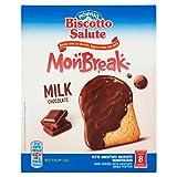 Monviso Biscotto Salute Monbreak Milk Chocolate, 168g...