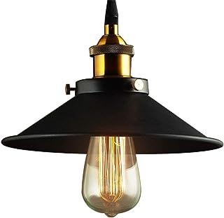Retro Luz E27 Colgante de Vintage Industrial Lámpara de Techo para Corredor Porche Sala Comedor Cocina Dormitorio Estudio ...