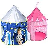 Easony Zelt Kinderzimmer,Spielhaus für Kinder Kinderspielzeug ab 3 Jahren Spielzelt Tippi...