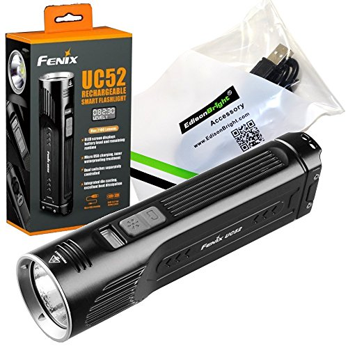 Best Rechargeable Flashlight: Fenix UC52