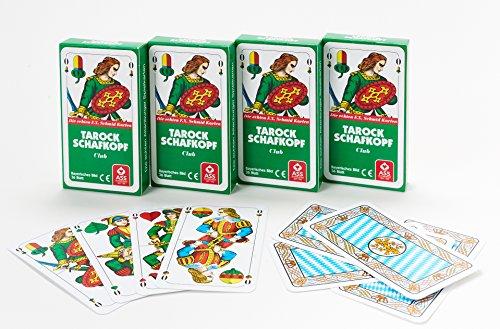 4 x Schafkopfkarten Tarockkarten Bayerisches Bild