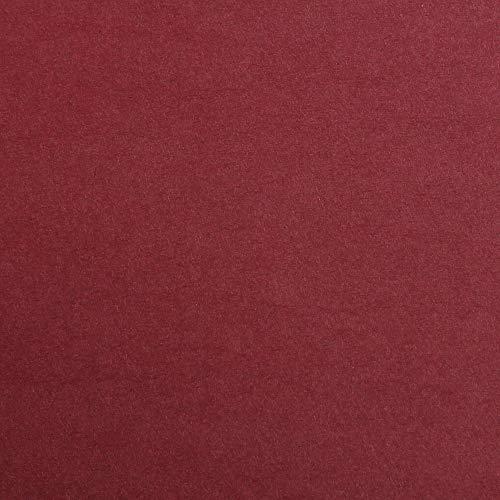 Clairefontaine 97476C Fotokarton Pack, 25 Bögen Premium, Din A4, 21 x 29.7 cm, 300 g, bordeaux