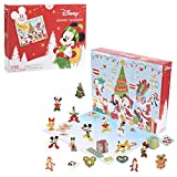 Disney Classic Advent Calendar, 32 Pieces, Figures, Decorations, and Stickers, by Just Play