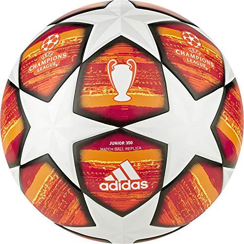 Adidas Finale J350 Ball, parte superiore: bianco/rosso attivo/scarlatto/rosso solare: arancione/oro solare/nero, 5