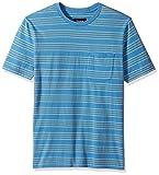 Brixton Men's Hilt Washed Short Sleeve Pocket Knit