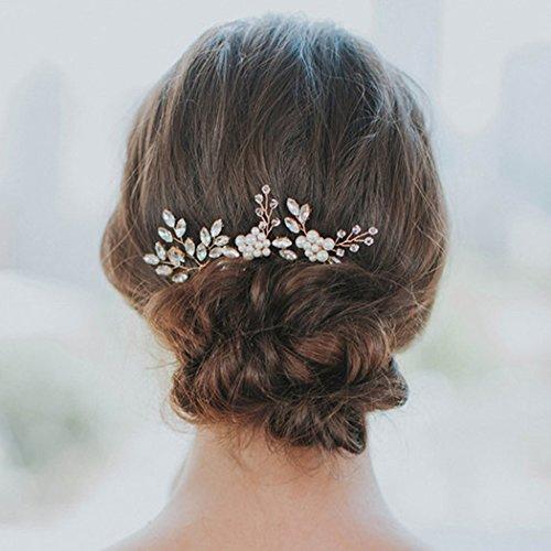 Yean Haarnadeln, Brautschmuck, für Damen und Mädchen, 3er-Packung