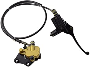 GOOFIT Front Disc Brake Master Cylinder Caliper Assembly for Chinese 50cc 70cc 90cc 110cc..