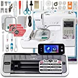 Best Embroidery Sewing Machines - Brother ScanNCut 2 Wireless Bundle with SE600 Computerized Review