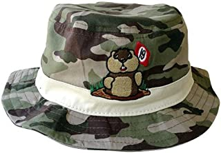 293464dc5463c Caddyshack Camo Bucket Hat with Dancing Gopher Logo Size L XL