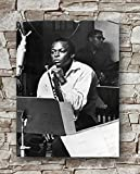 Zero.o Miles Davis Poster, Standardgröße, 45,7 x 61 cm,