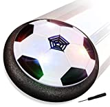 Baztoy Balón Fútbol Flotant, Pelota Futbol con Protectores de Espuma Suave y Luces LED Balones...