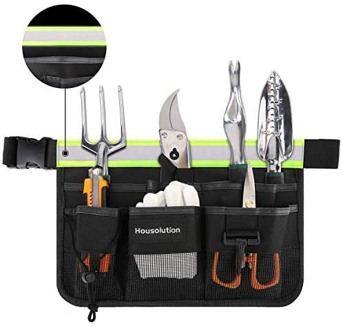 Housolution Tools Popular product Belt Pouch with 7-Pocket Bombing new work Por Rellective Strip