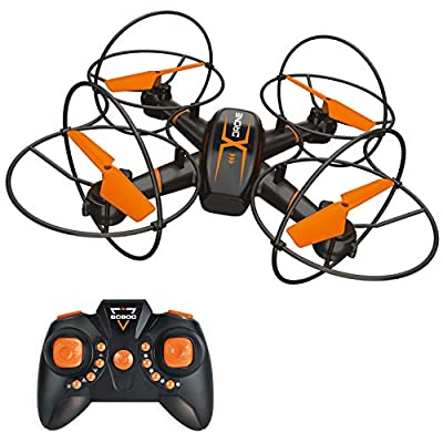 BOBOO RC Drone for Kids,Anti-collision RC Quadcopter with Altitude Hold Mode,One-key Take-off & Landing, 3D Flips and Headless Mode, Easy to Fly for Beginners, Great Gift