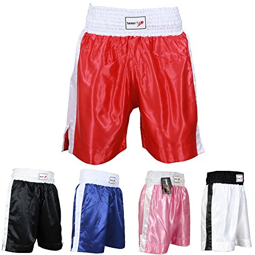 TurnerMax - Pantaloncino Boxe Rosso Medium