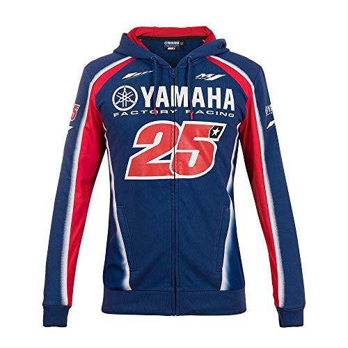 VR46 Yamaha Vinales Sudadera, Hombre, Royal Blue, S