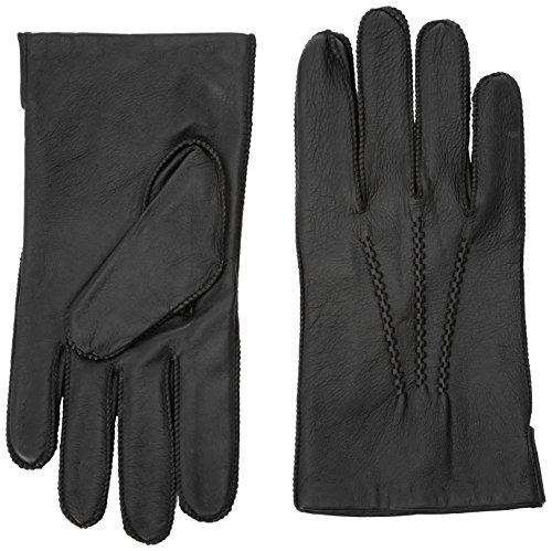 Tommy Hilfiger Basic LTHR Glove Gants, Noir (Black), X-Large (Taille fabricant: L/XL) Homme^Homme