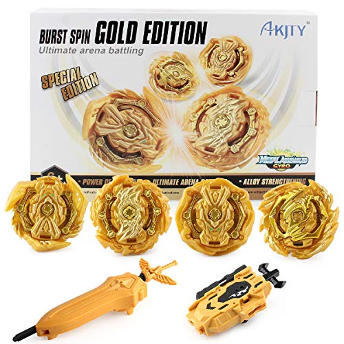 Bay Battle Burst Avatar Attack Battle Set with Two Launcher and Grip Starter Set