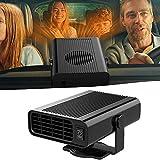 Auto Riscaldatore Parkarma 12V 150W Riscaldatore per Auto Riscaldatore per Auto Portatile 2 in 1 Riscaldamento & Ventilator Ventola Riscaldante per Auto Sbrinatore Riscaldamento Auto