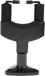 Electomania® Guitar Wall Hanger Holder Stand Rack Hook Mount Bracket Guitar Bass (Black)
