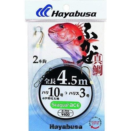 ハヤブサ(Hayabusa) E-721-12-5 シーガーエース フカセ 4.5m 2本針
