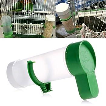 Youlin Distributeur Automatique d'eau et d'Aliments Abreuvoir pour Perroquet Oiseaux Animaux De Compagnie
