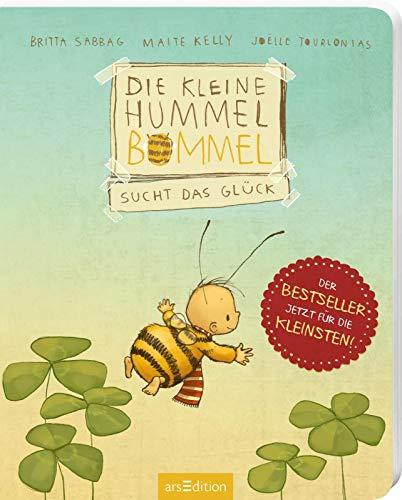 Die kleine Hummel Bommel sucht das Glück (Pappbilderbuch): Kinderbuch zum Thema Glück finden, für Kinder ab 3 Jahren