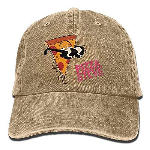 JINHBYV Pizza Steve Sunglasses Adjustable Cotton cap
