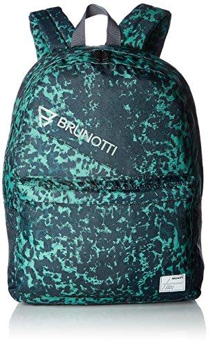 Brunotti Mister Stone Unisex Bag Rucksack, Forest Green, 42 x 32 x 14 cm