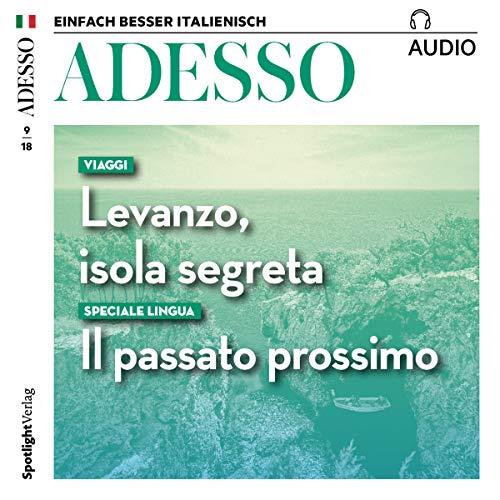 ADESSO Audio - Viaggi: Levanzo, isola segreta. 9/2018 Titelbild