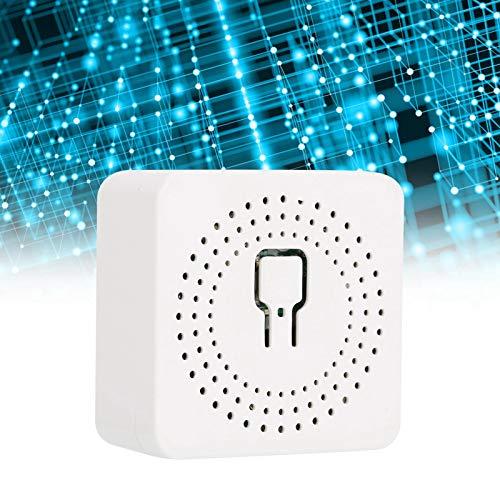 Cosiki Interruptor Inteligente, Controlador de Encendido y Apagado Wi-Fi de 16 A, 100-240 V, Funciona con Tuya