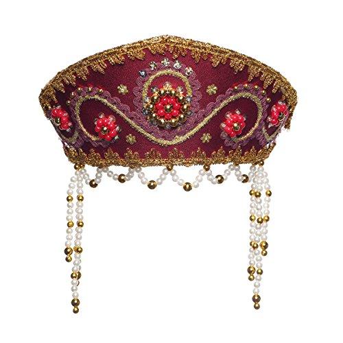 Russisch Traditionelles Volkskostüm - Kopfschmuck Kokoshnik