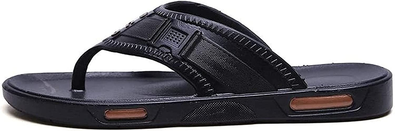 YUESFZ Beach Slippers Men's Comfortable Flops Flat Indoor Flip Max 73% OFF Wholesale a