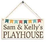Cheyan Sam & Kelly's Spielhaus aus Holz für Tochter oder Sohn