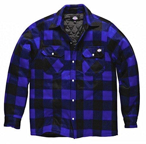 Dickies Fleece Thermohemd Portland, SH5000, Holzfällerhemd(Royalblau, L)