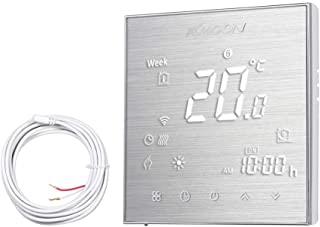 KKmoon AC 95-250V 16A Termostato Inteligente para Sistema de Fontanería,Termostato de Agua Caliente,Controlador de Tempera...