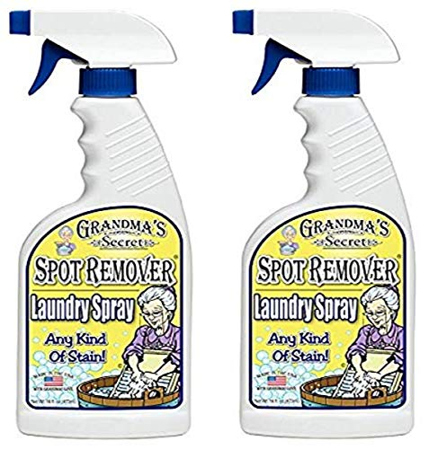 Grandma's Secret 7001 2 Pack Spot Remover Laundry Spray, 16 fl oz, 32
