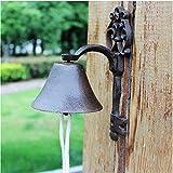 Timbre antiguo Estilo de llave Rústico Puerta de montaje en pared de...