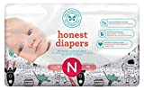 Honest Baby Diapers, Space Travel, Size 0 Newborn (160 Count)