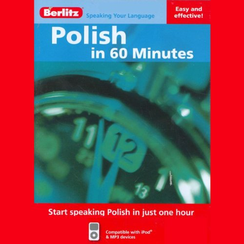 Polish in 60 Minutes audiobook cover art